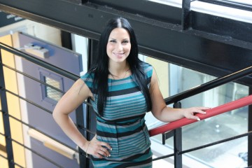 CNPS M.A. Student, Zarina Giannone