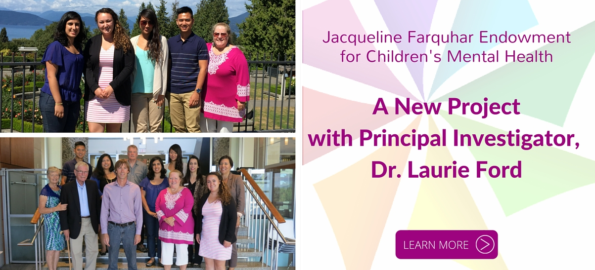 Laurie Ford Jacqueline Farquhar Endowment Project - September 2015